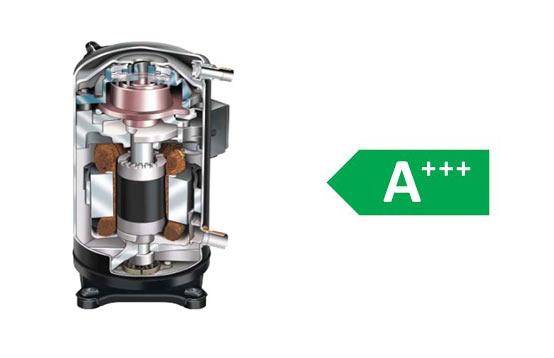 موتور دی سی اینورتر در کولر گازی بوش 30000