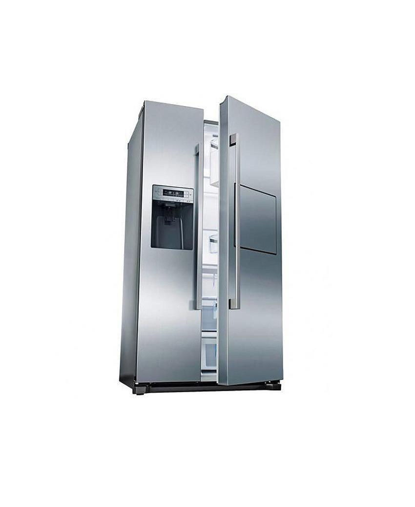 یخچال ساید بوش استیل مدل KAD80A40ME