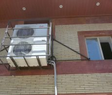 محل مناسب نصب کندانسور کولر گازی